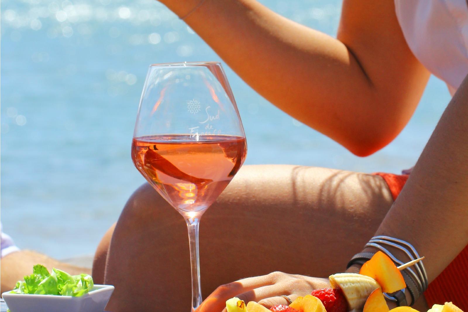 Comment déguster le vin rosé?
